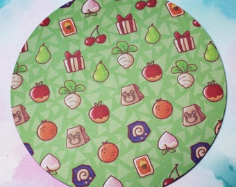 Animal Crossing Fruits Mouse Pad