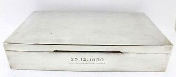 Rar Cigar Box Can Box 1 34 Kg 835 S F Silver 1950 Etsy