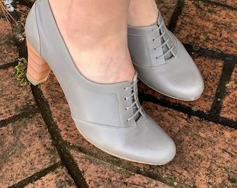 Vintage Oxford Shoes Etsy