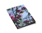 Summer Blooms Journal - Hardcover 128 Page Ruled Line