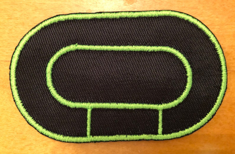 Roller Derby Track Patches