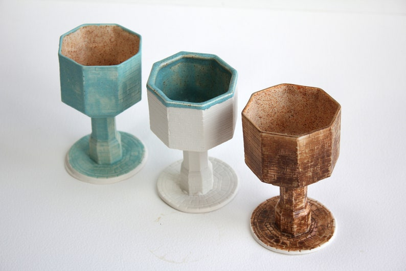 Handmade Porcelain Chalices  Ceramics  Ceramic Chalices  image 0