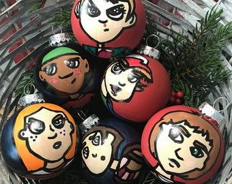 Stranger Things Gifts Halloween Ornaments Spooky Christmas Ornaments Halloween Decor Halloween Gift Christmas Decor Christmas Gifts BFF gift