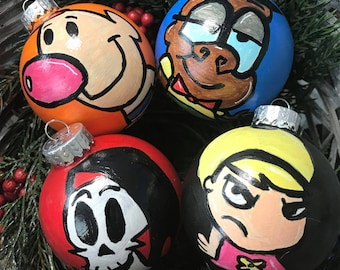 The Grim Adventures of Billy and Mandy Christmas Ornaments Grim Reaper Cartoon Network Christmas Decor Christmas Gift Unique Gift Ideas