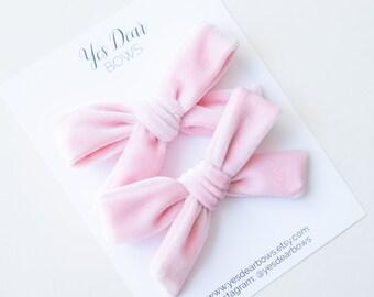 clip on bows Dear Stitch