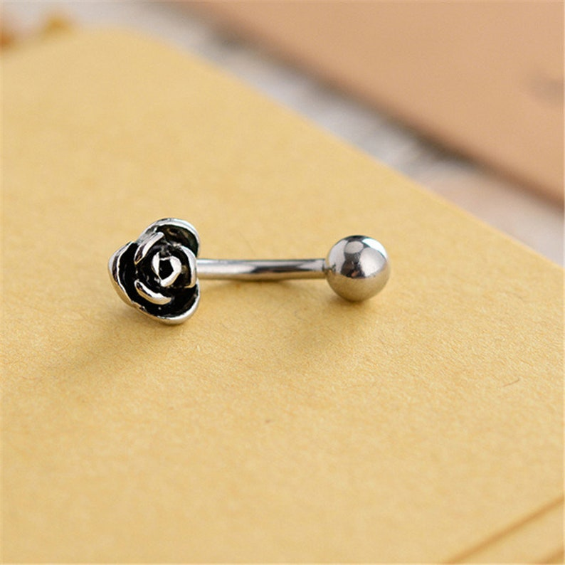 Navel Piercing Ring Navel Jewelry Belly ring flower Belly Button Jewelry,belly ring Piercing,Belly Ring