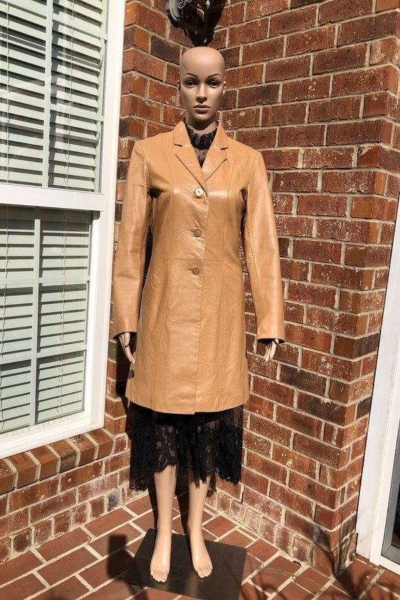 Wilson Leather Trench Coat