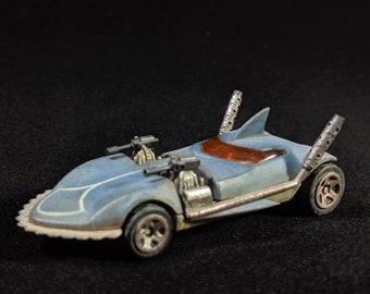 Gaslands Customized Hotwheels Shark Car by FichtenFoo