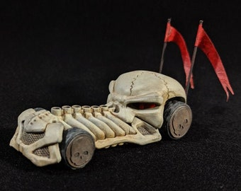 Gaslands Customized Hotwheels Skull Car by FichtenFoo