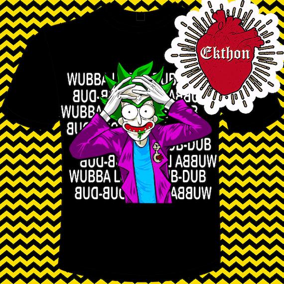 Rick Joker Svg Eps Dxf Cricut Cameo Silhouette Plotter Etsy