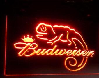 Budweiser neon | Etsy