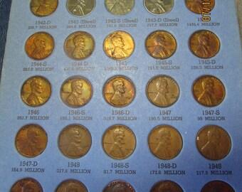 Silver pennies book | Etsy