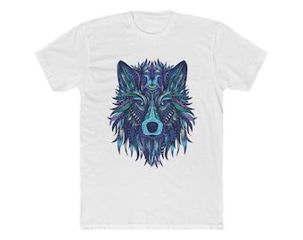 Colorful Mandala Wolf | Unisex Shirt | Graphic Tee