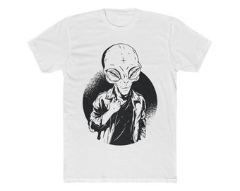 Hipster Alien | Unisex | Graphic