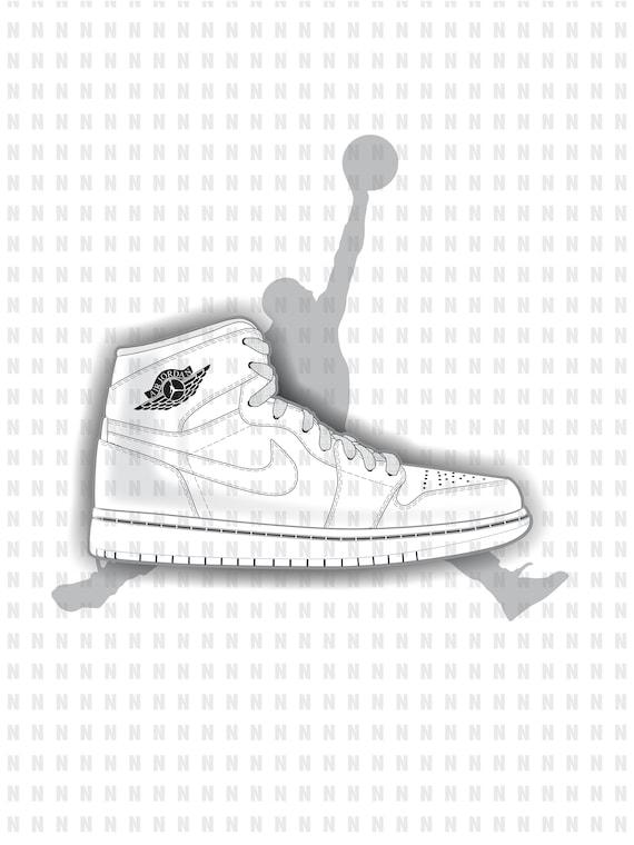 Color your Own Nike AIR JORDAN 1