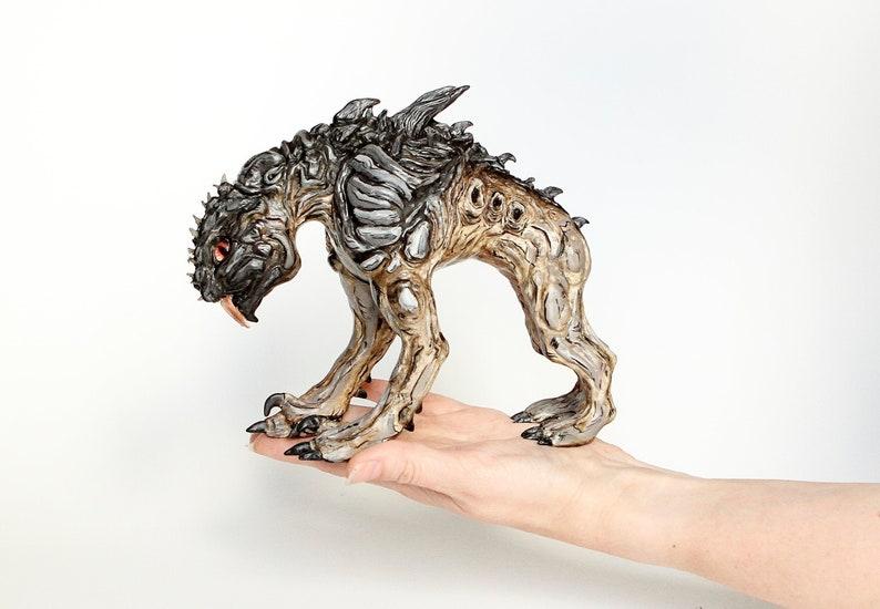 Skag  Border lands  Fantastic art beast  Fantasy creature image 0
