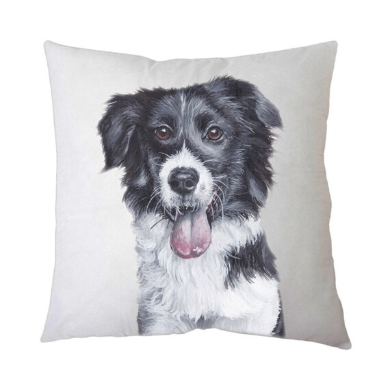 Pillow Border Collie Etsy