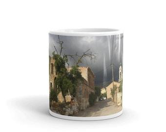 Mug #stoupalife (Storm Over Agios Nikolaos)