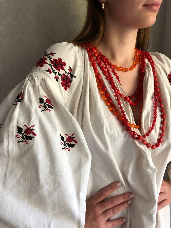 Vyshyvanka Ukrainian Embroidery Handmade Dress Vys