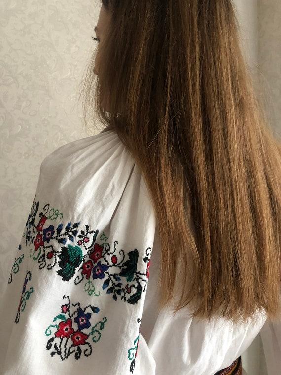 Vyshyvanka Ukrainian Embroidery Handmade Dress Vys