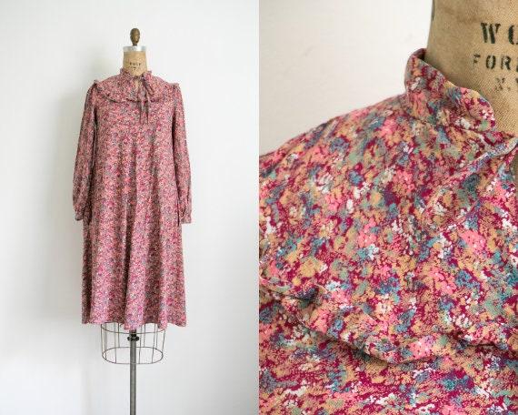 Vintage Miss Selfridge floral smock dress