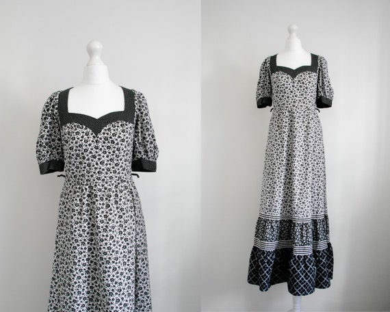 Vintage tiered prairie dress
