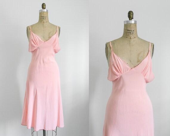 Vintage 30s silk slip