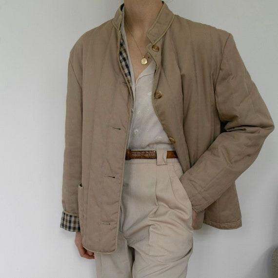 Vintage 1980s Aquascutum quilted jacket