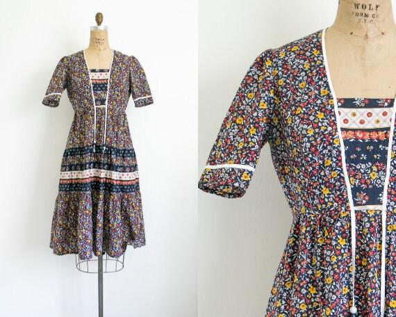 Vintage Richard Shops floral dress