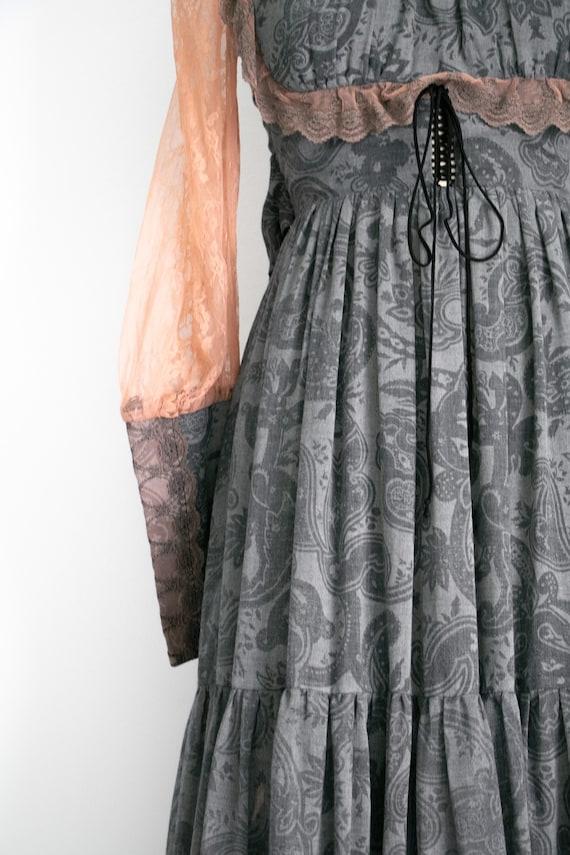 Vintage Gunne Sax milkmaid dress - image 8