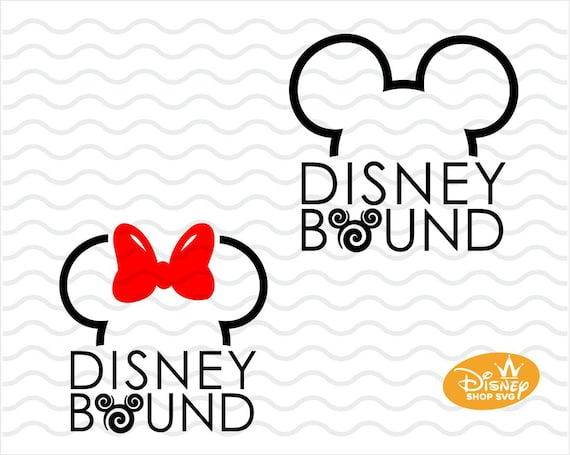 Disney Bound Svg Modern Disney Svg Outlined Disney Etsy