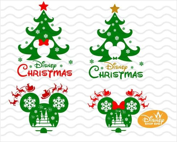 Disney Noel 2020 Svg Mickey Ve Minnie Mouse Christmas Disney Etsy