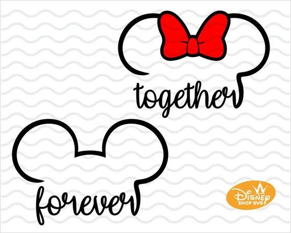 Download Disney Together forever svg / Disney love design Svg | Etsy
