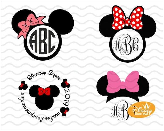 Minnie Mouse Svg Mouse Svg Cricut Files Mama Mouse Svg Disney Svg Bundle Svg For Girl Minnie Svg Disney Svg