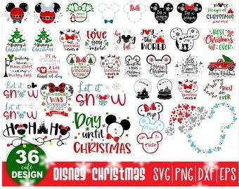Christmas Svg,Disney Christmas Bundle,Snowflake Svg,Let It Snow Svg,Xmas Svg,Christmas Gift Files,Christmas Cart Svg,Disney Svg,Cut File