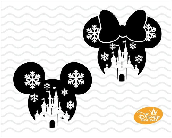 Disney Christmas 2018 Svg Mickey Minnie Mouse Disneyland Etsy