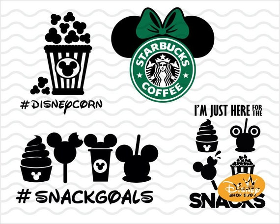 Minnie Mouse Starbucks Svg Minnie Mouse Svg Disney Etsy