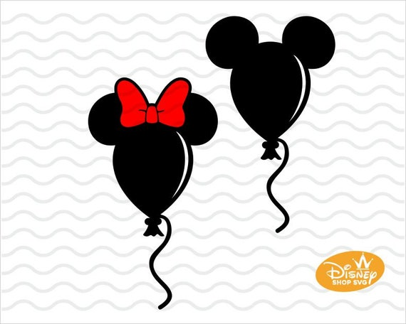 Disney Svg Disney Balloon Svg Mickey Balloon Svg Mickey Etsy