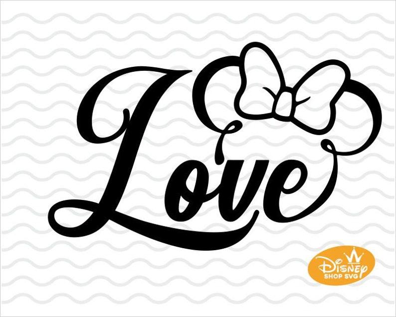 Download Love disney svg / Love disney dxf / Love disney cut / Love ...