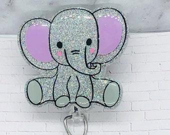 Elephant Badge Reel