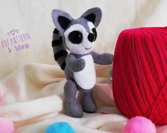 Raccoon toy | Etsy