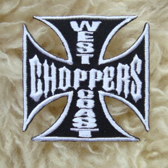 WESTCOAST BIKE CUSTOM CAR  Embroidered Sew Iron On Cloth Patch Badge APPLIQUE