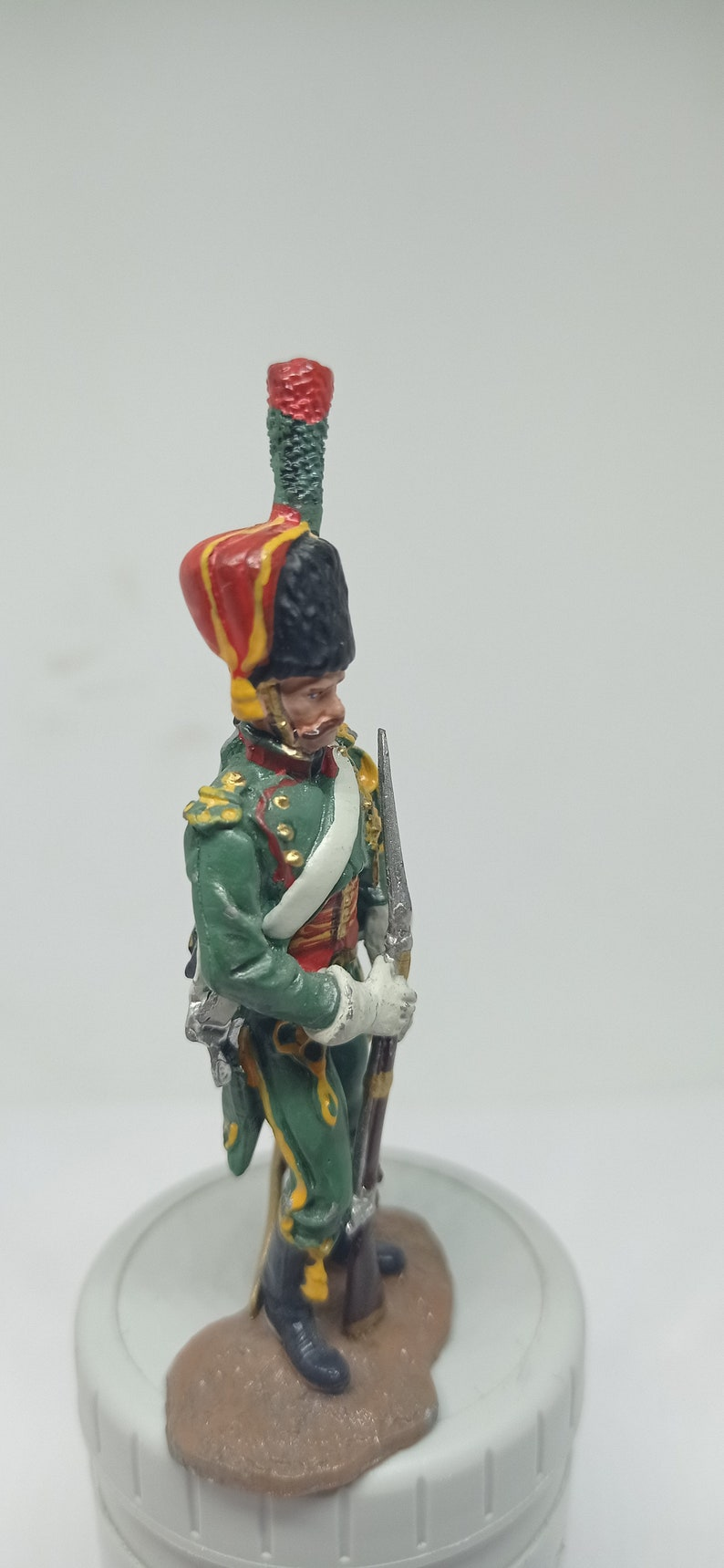 Tin Soldiers Collectible tin figurine.