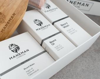 Luxury 7 Piece Beard Grooming Kit