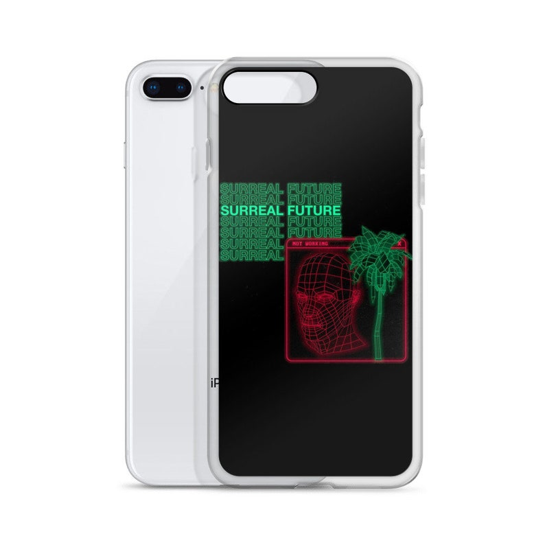 Vaporwave iPhone Case, Aesthetic iPhone Case, Black iPhone Case, Vintage  iPhone Case, iPhone X Case, iPhone XS Case, iPhone XR Case, iPhone