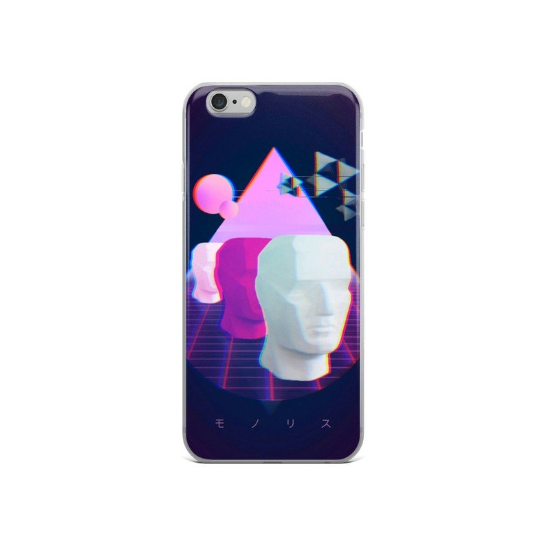VaporWave iPhone Case iPhone 8 Case Abstract iPhone Case iPhone X Case iPhone XS C iPhone 7 Case iPhone 6 Case Aesthetic iPhone Case