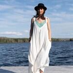 Jumpsuit Bali - Resort wear for woman - Boho- gipsy - minimalist - combinaison- tunique - kimono - Harem - Beach Cover Up -Bohemian Clothing