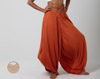 HAREM PANTS - Infinity Dress - Kimono - Long Skirt - Jumpsuit - Multifunction Clothing - Travel Clothing