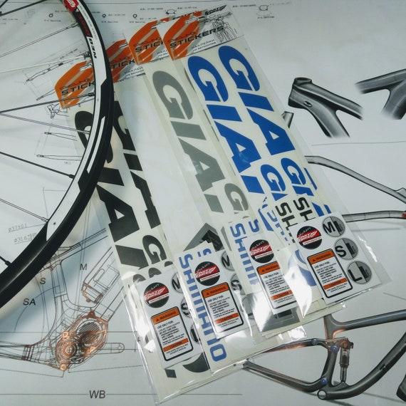 Rock Shox 35 2018 Fork Decal Mountain Bike Cycling Sticker Adhesive Black