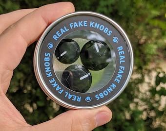Real Fake Knobs J-type - 3 Magnet Set